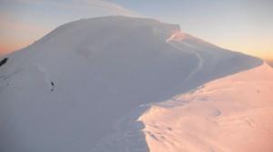 Mont Blanc kora reggel