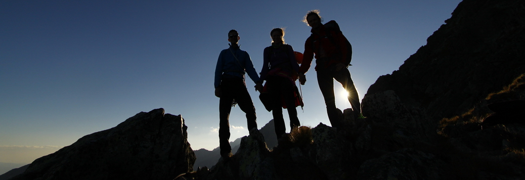 Nyári alpesi hegymászó tanfolyam