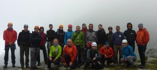 Hegymászókat avattunk – nyári alpesi tanfolyam