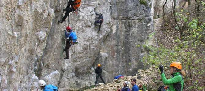 Előadás a trepnis mászásról
