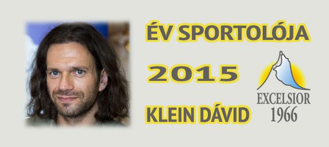 Excelsior – Év sportolója díj (2015.)