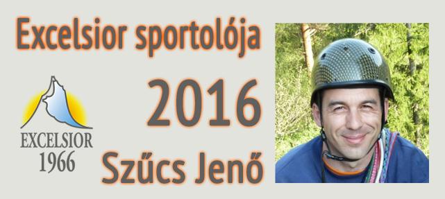 Excelsior sportolója díj – 2016