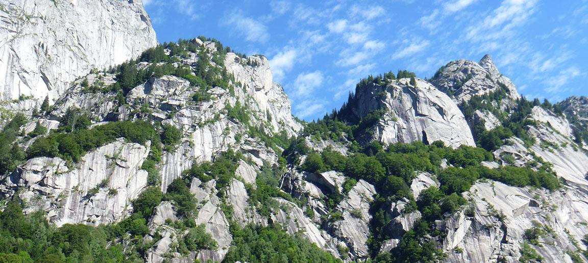 Val di Mello - Haladó mászótábor