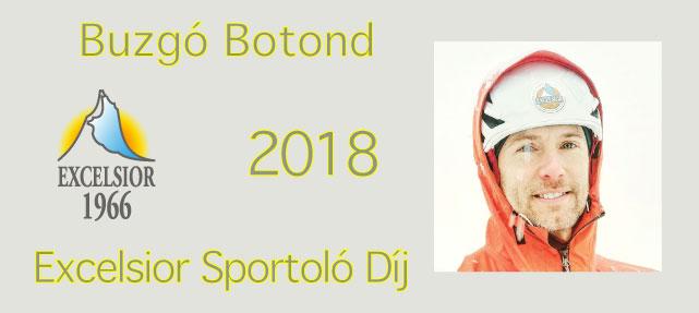 Excelsior sportoló díj – 2018