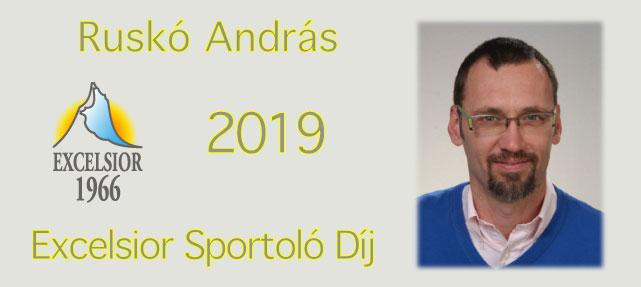 Excelsior sportoló díj – 2019