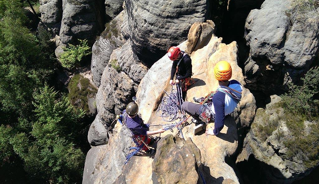 Homokkő mászótanfolyam és mászótábor