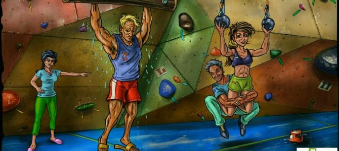Boulder edzések Szandival