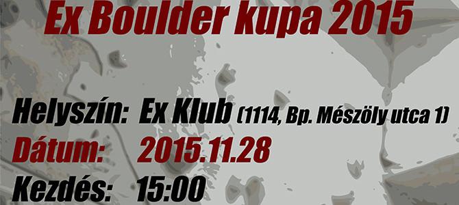 EX Boulder Kupa 2015