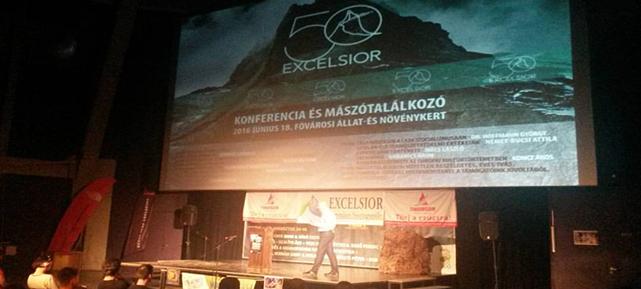 Excelsior 50: Mászótalálkozó és konferencia