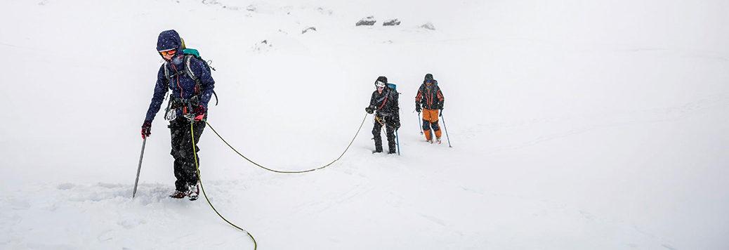 Téli alpesi hegymászó tanfolyam