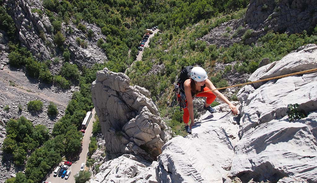 Paklenica mászótábor